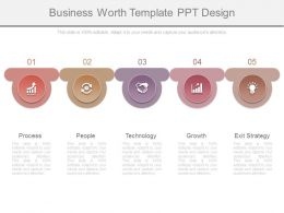 Business Worth Template Ppt Design