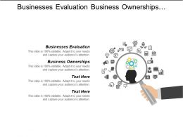 Businesses Evaluation Business Ownerships Customer Retention Employee Productivity
