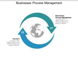 Businesses Process Management Ppt Powerpoint Presentation Slides Graphics Cpb