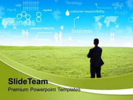 Businessman With Innovative Ideas Strategy Powerpoint Templates Ppt Themes And Graphics 0213