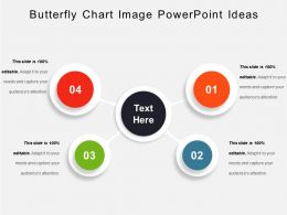 Butterfly Chart Image PowerPoint Ideas