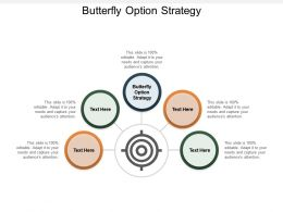 Butterfly Option Strategy Ppt Powerpoint Presentation Summary Cpb