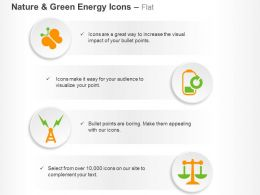 Butterfly Power Generation Balance Scale Ppt Icons Graphics