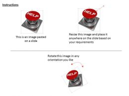Button For Help Option Image Graphics For Powerpoint