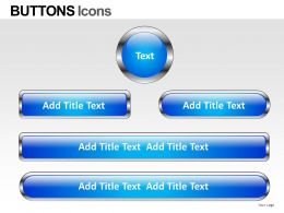 Buttons Icons Powerpoint Presentation Slides