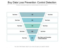 Buy Data Loss Prevention Control Detection Ppt Powerpoint Presentation Gallery File Formats Cpb