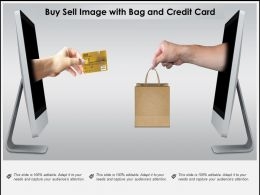 Buy Sell Image With Bag And Credit Card