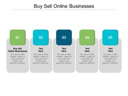 Buy Sell Online Businesses Ppt Powerpoint Presentation Professional Samples Cpb