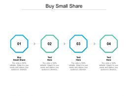 Buy Small Share Ppt Powerpoint Presentation Professional Influencers Cpb
