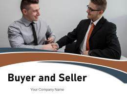 Buyer And Seller Business Marketing Relationship Exchanging Businessman