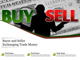 Buyer And Seller Exchanging Trade Money