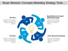 Buyer Behavior Concepts Marketing Strategy Tools Executive Assistants Cpb