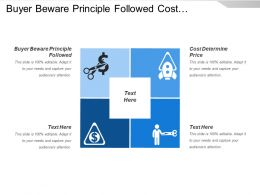 Buyer Beware Principle Followed Cost Determine Price Employee Preferences