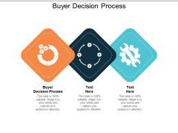 Buyer Decision Process Ppt Powerpoint Presentation Infographics Layout Ideas Cpb