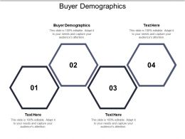 Buyer Demographics Ppt Powerpoint Presentation Icon Slide Portrait Cpb