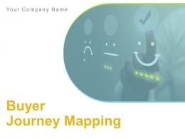 Buyer Journey Mapping Powerpoint Presentation Slides