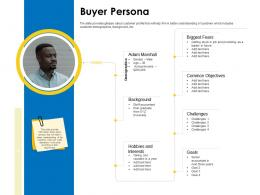 Buyer Persona Business Manual Ppt Powerpoint Presentation Infographics Design Inspiration