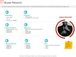 Buyer Persona Business Procedure Manual Ppt Outline Graphic Tips