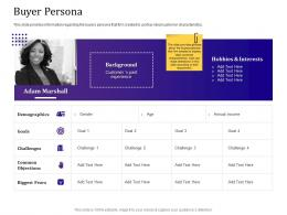 Buyer Persona Empowered Customer Engagement Ppt Gallery Picture