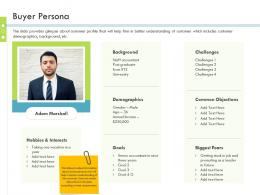 Buyer Persona Firm Guidebook Ppt Themes