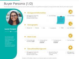 Buyer Persona Goals Strategic Plan Marketing Business Development Ppt Picture