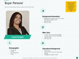 Buyer Persona L2185 Ppt Powerpoint Presentation Outline Guidelines
