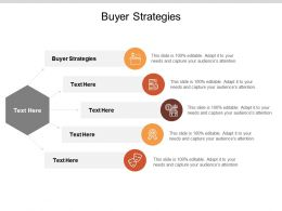 Buyer Strategies Ppt Powerpoint Presentation Icon Slides Cpb