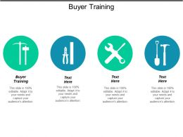 Buyer Training Ppt Powerpoint Presentation File Layout Ideas Cpb