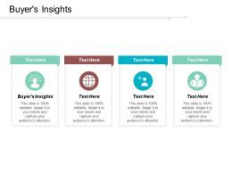 Buyers Insights Ppt Powerpoint Presentation File Styles Cpb