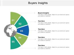 Buyers Insights Ppt Powerpoint Presentation Pictures Graphics Design Cpb
