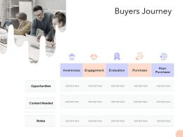 Buyers Journey Ppt Powerpoint Presentation File Graphics Download