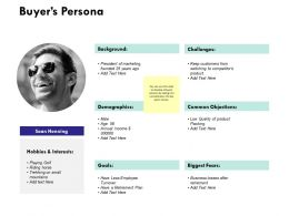 Buyers Persona Ppt Powerpoint Presentation Styles Slides