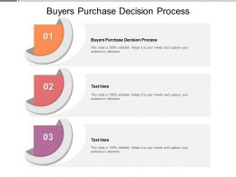 Buyers Purchase Decision Process Ppt Powerpoint Presentation Icon Guide Cpb