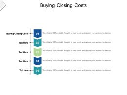 Buying Closing Costs Ppt Powerpoint Presentation Gallery Guidelines Cpb