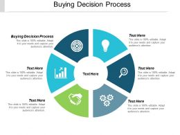 Buying Decision Process Ppt Powerpoint Presentation Summary Smartart Cpb