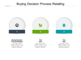 Buying Decision Process Retailing Ppt Powerpoint Presentation Visual Cpb