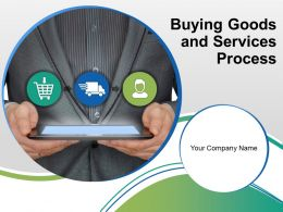 Buying Goods And Services Process Powerpoint Presentation Slides
