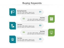 Buying Keywords Ppt Powerpoint Presentation Portfolio Designs Cpb