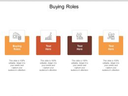 Buying Roles Ppt Powerpoint Presentation File Design Ideas Cpb