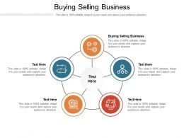 Buying Selling Business Ppt Powerpoint Presentation Pictures Themes Cpb