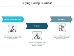 Buying Selling Business Ppt Powerpoint Presentation Summary Smartart Cpb