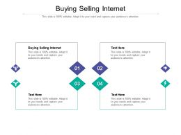 Buying Selling Internet Ppt Powerpoint Presentation Gallery Background Cpb