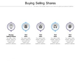 Buying Selling Shares Ppt Powerpoint Presentation Infographic Template Guidelines Cpb