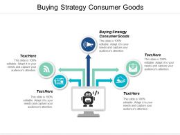 Buying Strategy Consumer Goods Ppt Powerpoint Presentation File Graphics Example Cpb