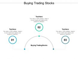 Buying Trading Stocks Ppt Powerpoint Presentation Summary Grid Cpb