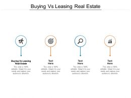 Buying Vs Leasing Real Estate Ppt Powerpoint Presentation Styles File Formats Cpb