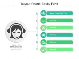Buyout Private Equity Fund Ppt Powerpoint Presentation Layouts Pictures Cpb