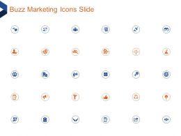 Buzz Marketing Icons Slide Ppt Powerpoint Presentation Portfolio Clipart Images
