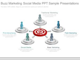 Buzz Marketing Social Media Ppt Sample Presentations