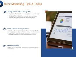 Buzz Marketing Tips And Tricks Dozen Messages Ppt Powerpoint Presentation File Templates